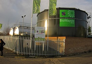 High rate AD plant at Orchard House Foods in Corby.